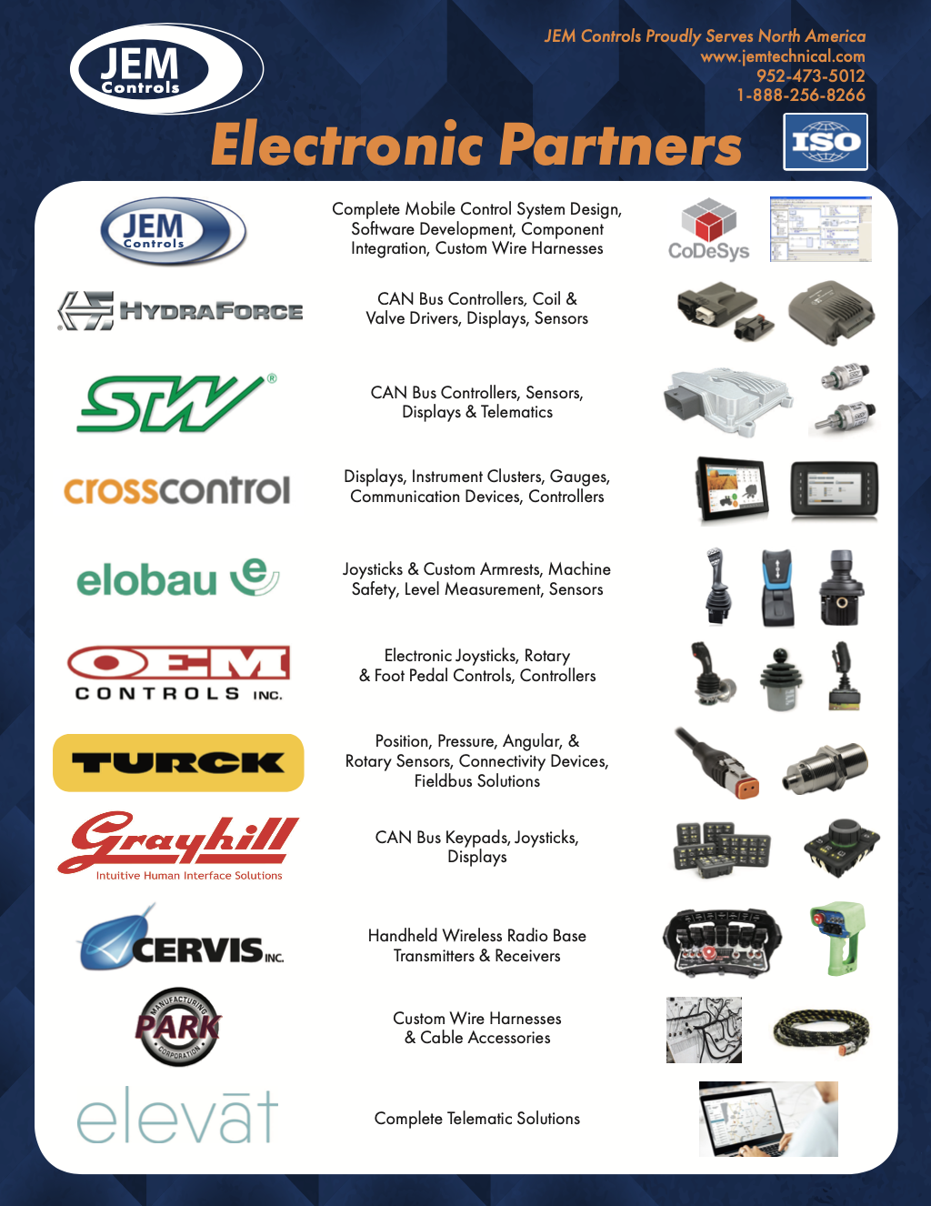 Electronics line card thumbnail   Fluid Power Application Valves and Control